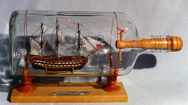 Как сделать корабли в бутылке