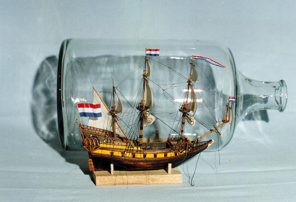 Корабль в бутылке в своими руками 52